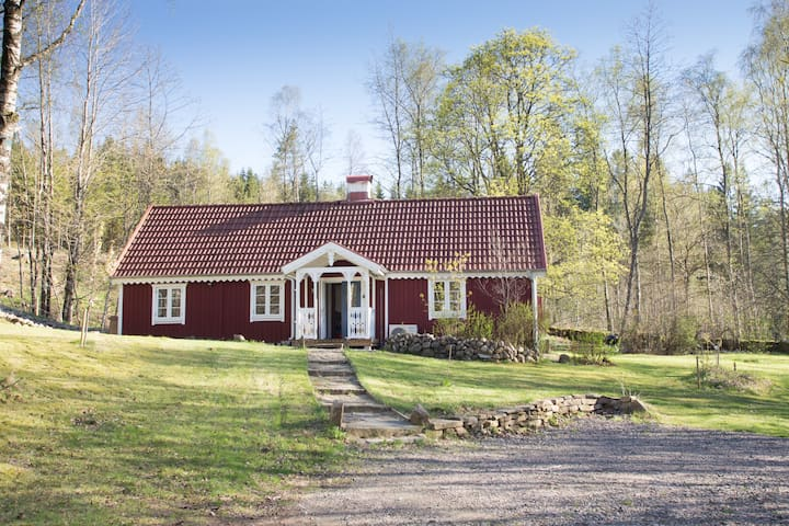 Kvarnhagen, beautifully restored forest house.