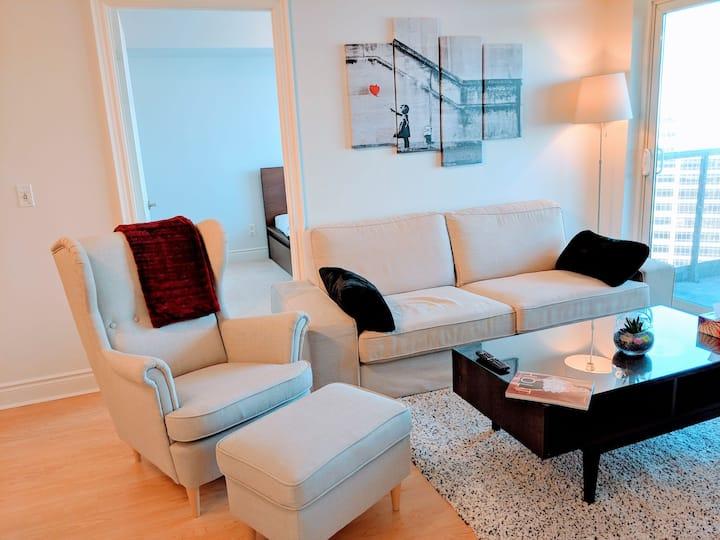 Luxurious 2BDRM, 2BATH Condominium with Parking