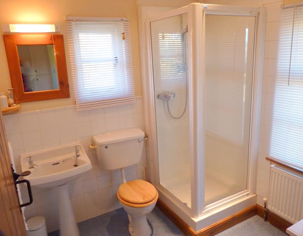 During your stay you have exclusive use of the bathroom