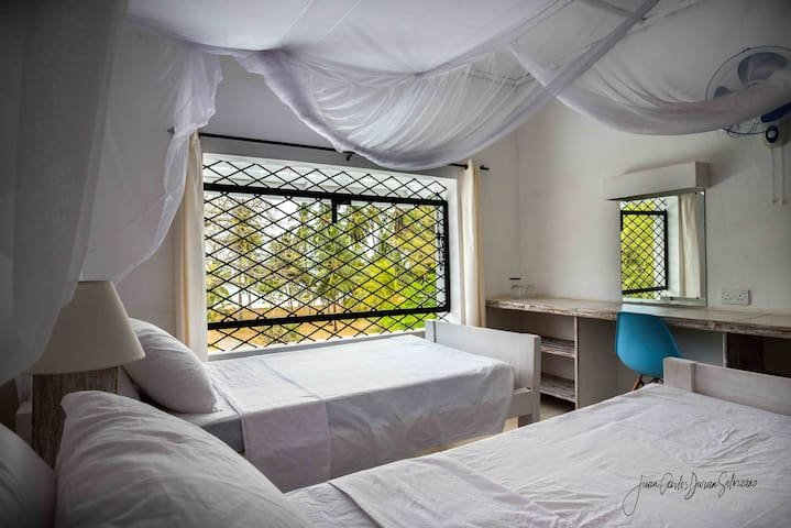 Sea View Twin Room at Baobab Beach House