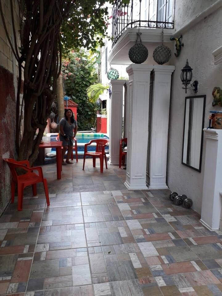 Bonita casa vacacional en Cozumel