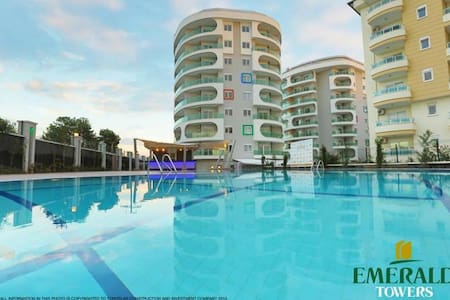 Mountain View 2-room apartment - Avsallar Belediyesi - Apartemen