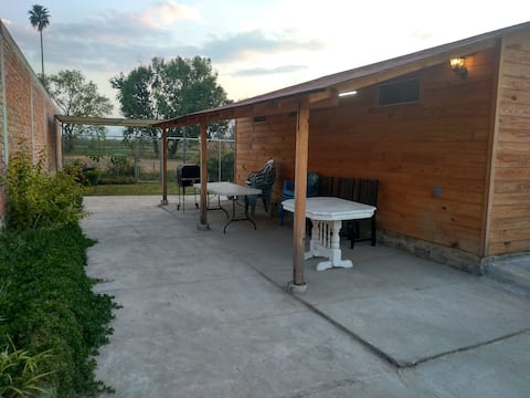 El viñal Cabin and Outdoor BBQ