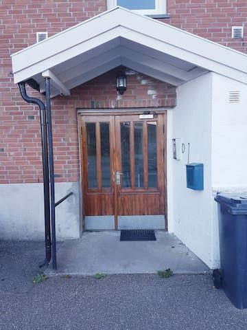 Main entrance. Key will be provided.