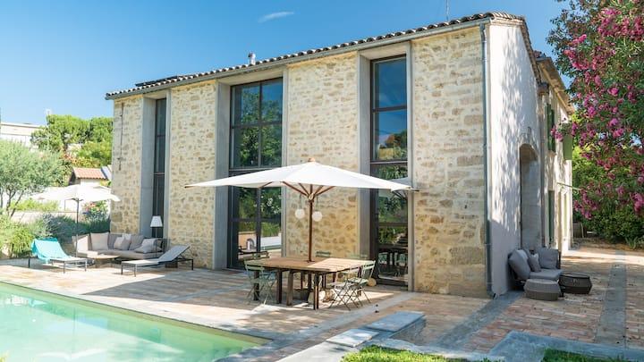 Maison de charme piscine Montpellier centre