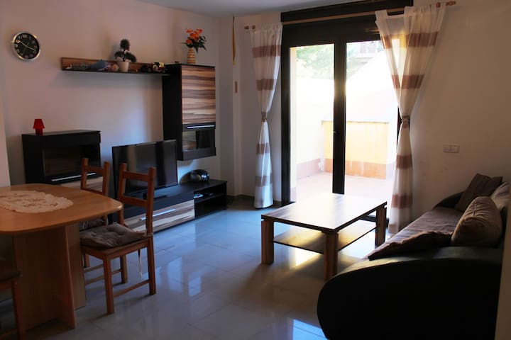 Torroella, groundfloor apartment with 1 bedroom. - Torroella de Montgrí - Appartement