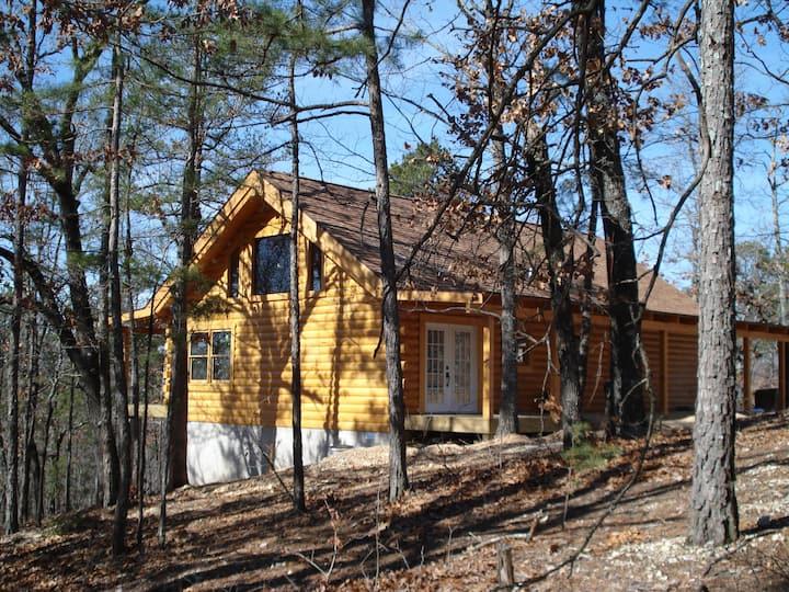 Bear Cliff Log Cabin.