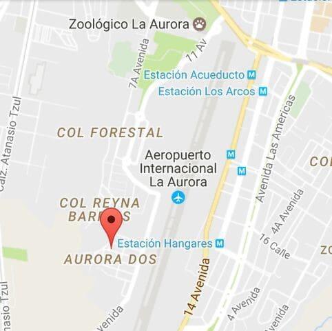 Cuarto azul .3min aeropuerto. - Guatemala - Hus