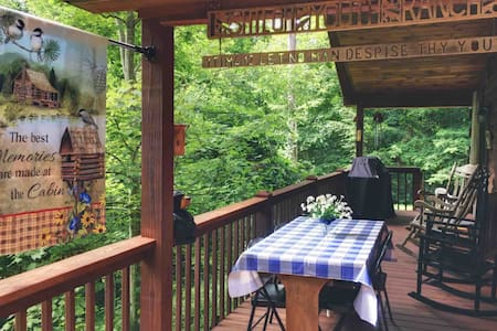 Secluded Mountain Cabin + Wildlife + 5 Min. to AT