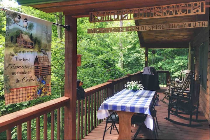 Private Woodland Sanctuary, 5 Min to AT, 20 to AVL