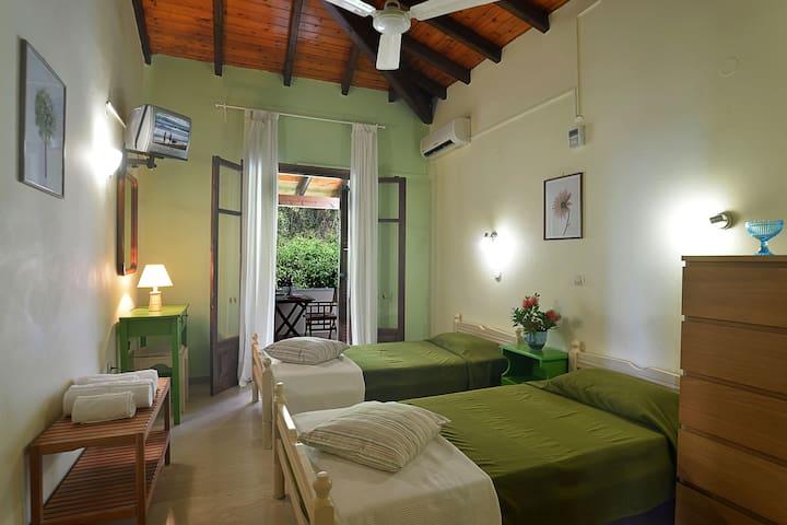 2 bedroom apartment /partial sea view in Barbati 8