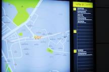 마전역주변 지도