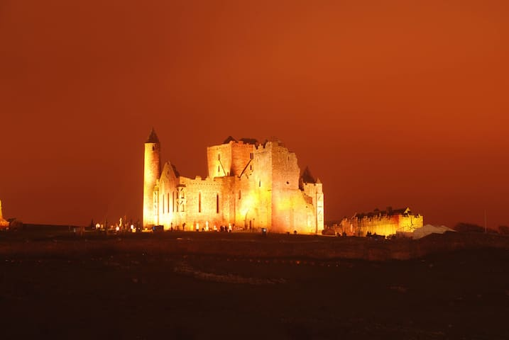 """2-3  Mins from the World famous  """"Rock of Cashel"""" The once seat of the Three Kings of Munster and visited by St. Patrick the Patron saint of Ireland Photo by Steve Moloney"""