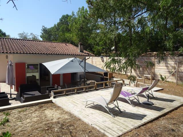 Maison Familiale à la pointe du Cap-Ferret