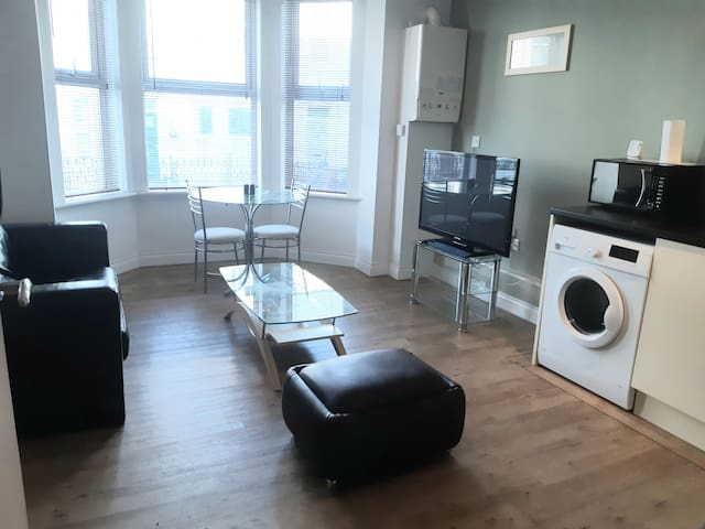 Lovely 1 Bed Apt, WIFI, Parking Close To It All