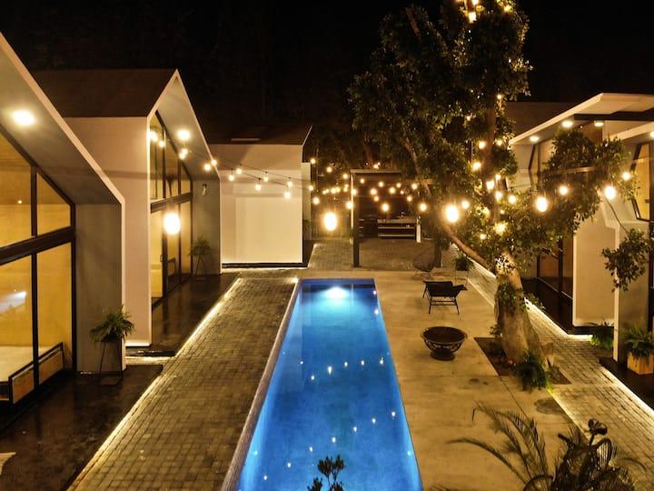 Casa Samadhi - Villa #4 Hum para dos.
