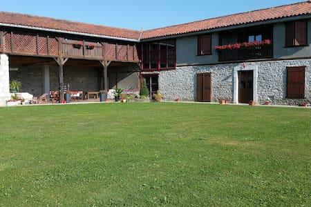 Grande maison rénovée plein sud  face aux Pyrénées - Talo