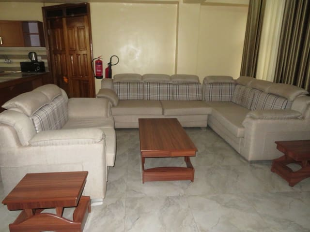 Fully furnished beautiful two bedrooms apartment
