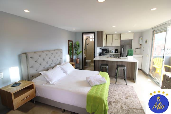 Hotel Mio Lofts ✪ Poblado Balcony View ✪ XVII