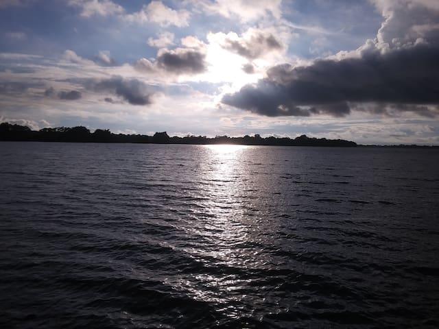 Relaxing King@Horseshoe Lake 30 mins from Memphis