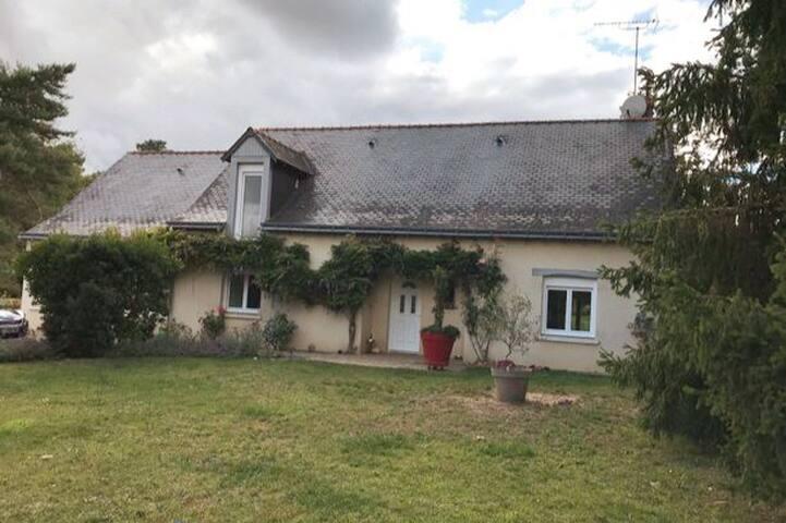 Maison luxueuse d'Arnaud et Mélanie