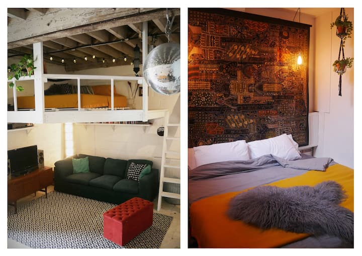 Stylish designer loft WAREHOUSE in Hackney Wick