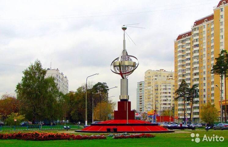 Посуточная сдаем 1 ком. квартиру - Korolev