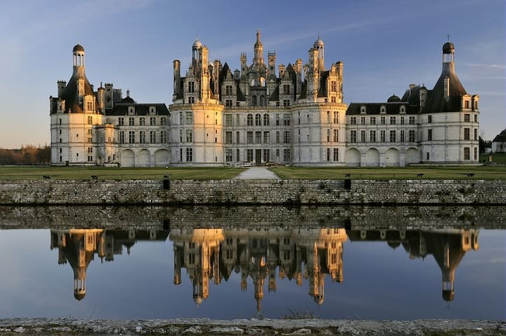 A 10 km du château de Chambord