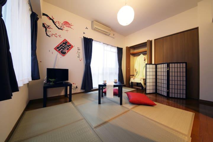 Newopen! 和 Nr sta→5mins, Shinsaibashi 404#EX5 - 大阪市 - Apartmen