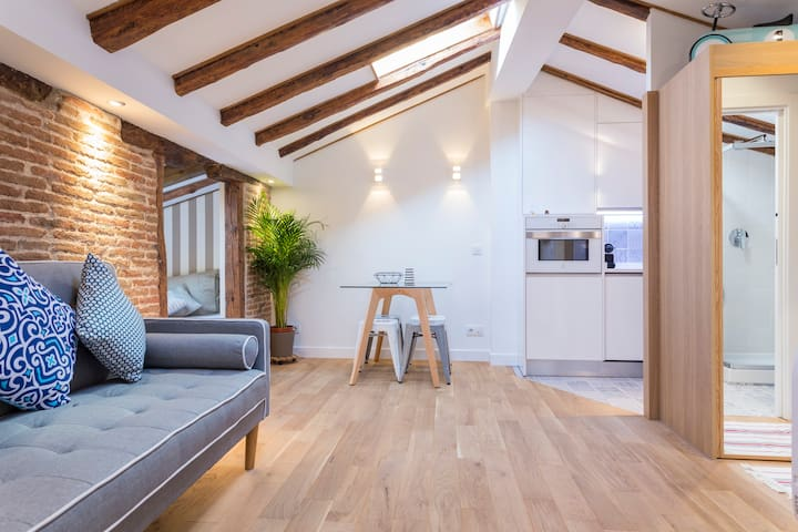 Great studio in the main center of Madrid.