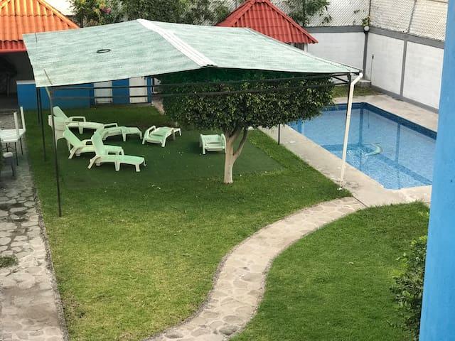 Hermosa Casa con Alberca Privada y Jacuzzi