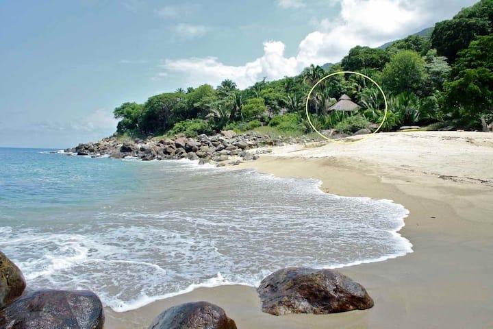 romantic beachfront paradise