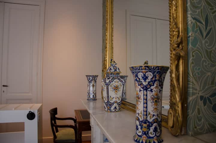 Albert Molière : grande chambre double avec balcon
