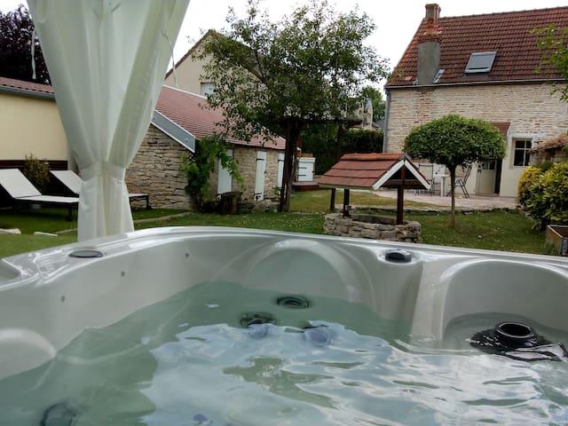 Calme et détente juste à côté de Dijon
