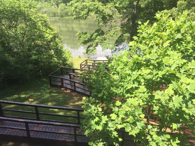 Lil Piece of Heaven Lake house-handicap access!