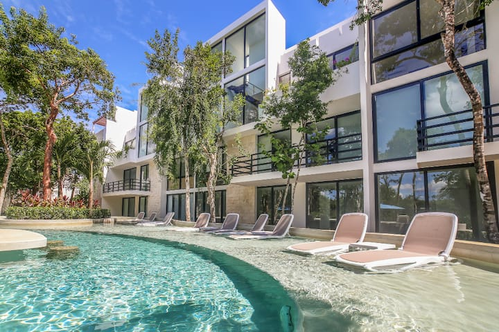 Escape in the Mayan Riviera-  (2BD Townhome)