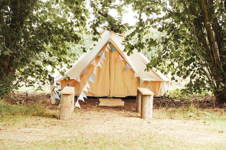 Woolton Farm Bell Tent 1