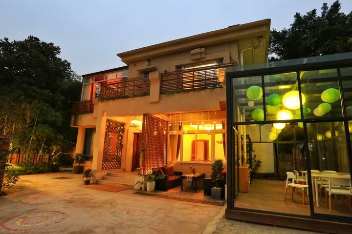 A2别墅艺术客栈,观音桥商圈,繁华之中喧嚣之外的舒适房间 - Chongqing - วิลล่า