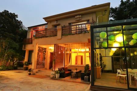 A2别墅艺术客栈◇,观音桥商圈,繁华之中喧嚣之外的舒适房间 - Chongqing - Villa