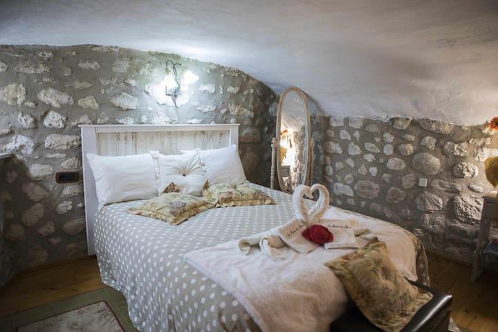 Apartament Refugi, ideal para parejas.