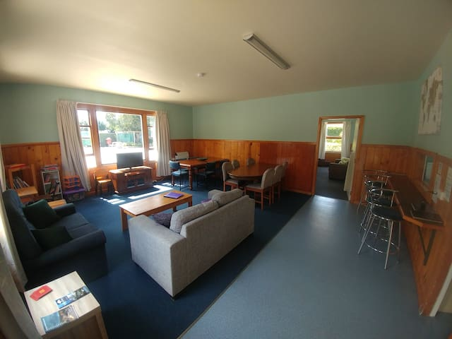Family Double Cabin at Waiau Motor Camp