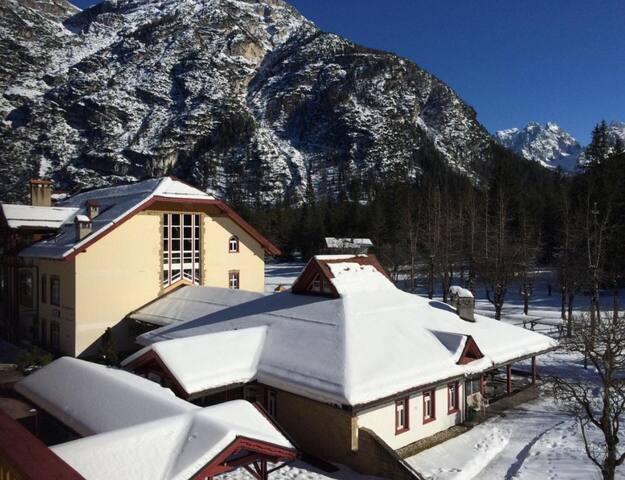 Monolocale presso il villaggio turistico Ploner