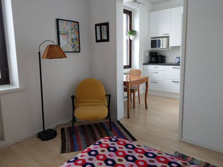 Studio Pori jatsi: stay at the Pori city centre