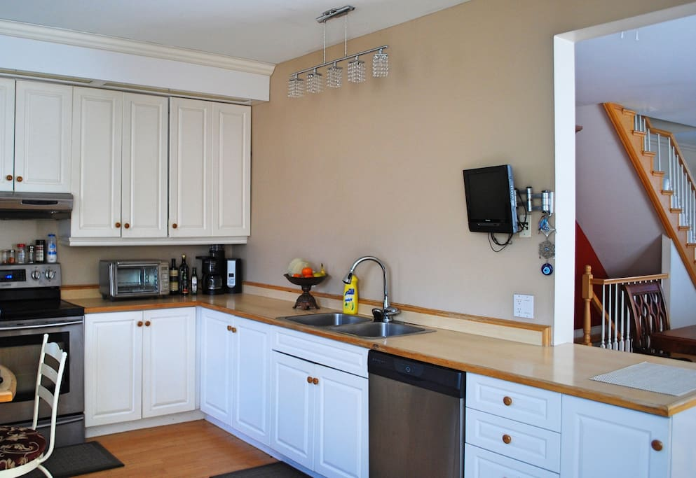 Shared Full Kitchen Including All Appliances