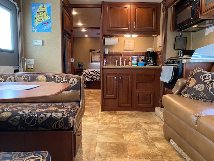 "RV ""Freedom"" Maine- Now booking for summer 2021!"