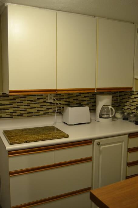 Separate kitchen room