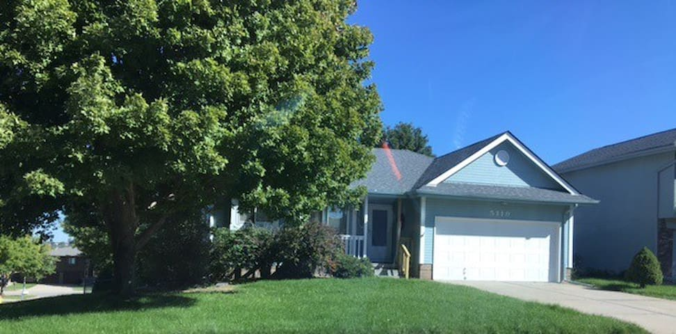 Ranch home with two bedrooms and two baths.