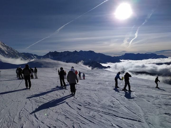 Appart 6 pers, pistes de ski, Collet d'Allevard