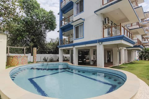 1 Bedroom Furnished Apartment Closest to the Beach