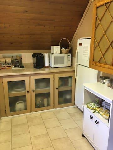 Guest own kitchen